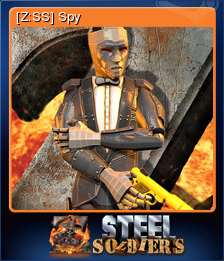 Z Steel Soldiers Card 07