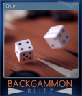 Backgammon Blitz Card 8