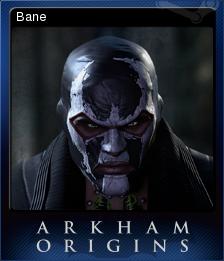 Batman Arkham Origins Card 1