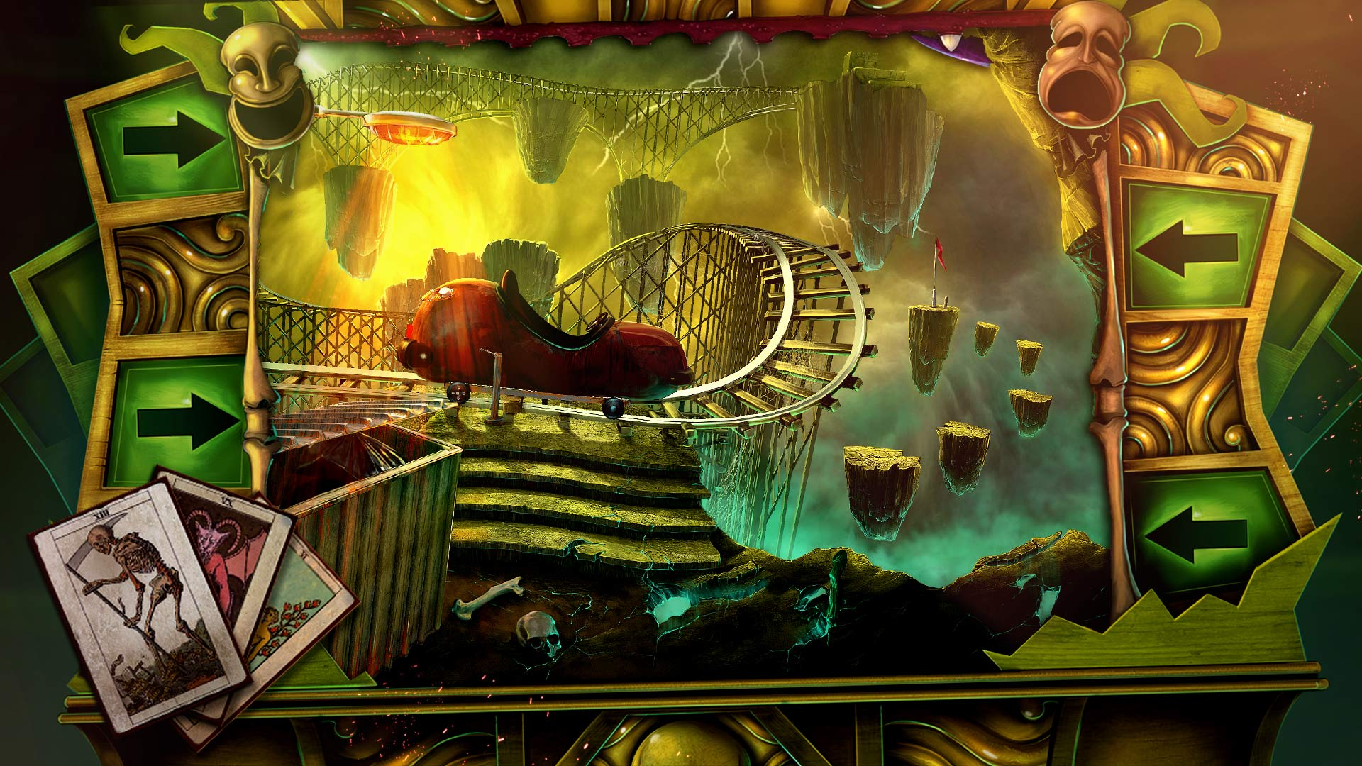 dark arcana the carnival death by rollercoaster steam trading