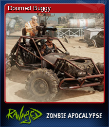 Ravaged Zombie Apocalypse Card 5