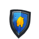Villagers and Heroes Badge 1