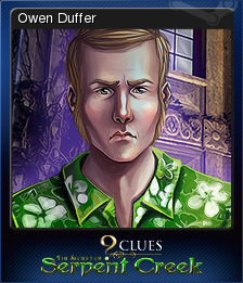 9 Clues The Secret of Serpent Creek Card 4
