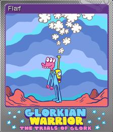 Glorkian Warrior The Trials Of Glork Foil 5