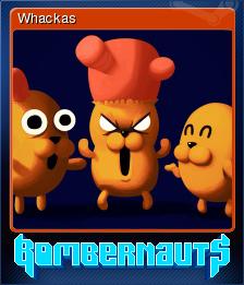 Bombernauts Card 8