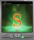 Why So Evil Foil 3