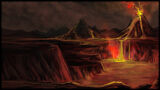 Age of Fear 2 The Chaos Lord Background Vulcano Background