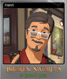 Broken Sword 5 Foil 2