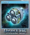 Direct Hit Missile War Foil 1
