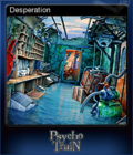 Mystery Masters Psycho Train Deluxe Edition Card 6