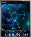 The Renegades of Orion 2.0 Foil 1