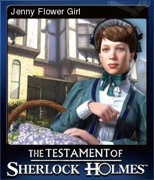The Testament of Sherlock Holmes Card 7