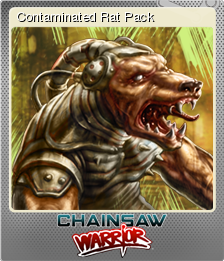 Chainsaw Warrior Foil 3