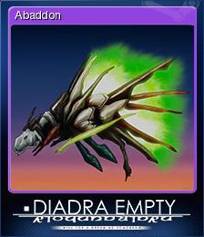 Diadra Empty Card 1