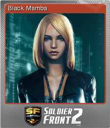 Soldier Front 2 Foil 4