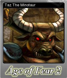 Age of Fear 2 The Chaos Lord Foil 4