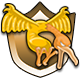 Flix The Flea Badge 4