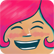 Girls Like Robots Emoticon happygirl