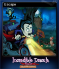 Incredible Dracula Chasing Love Collector's Edition Card 1