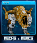 Mechs Mercs Black Talons Card 7