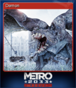 Metro 2033 Redux Card 3
