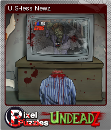 Pixel Puzzles UndeadZ Foil 05