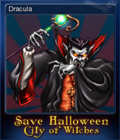 Save Halloween City of Witches Card 06