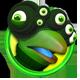 Spy Chameleon RGB Agent Badge 4