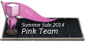 Steam Team Pink