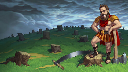 12 Labours of Hercules IV Mother Nature Artwork 7