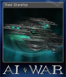 AI War Fleet Command Card 6