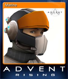 Advent Rising Card 05