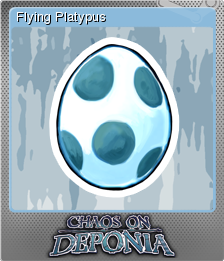 Chaos on Deponia Foil 2