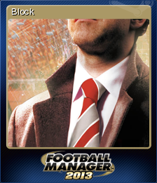 Football Manager 2013 Block