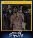 Zombies on a Plane Card 3