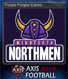 Axis Football 2015 Card 3