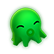 DanceWall Remix Emoticon dwgreen