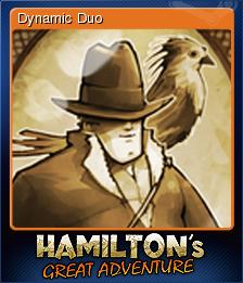Hamilton's Great Adventure Card 7