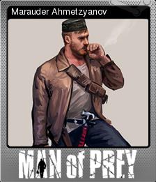 Man Of Prey Foil 1