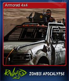 Ravaged Zombie Apocalypse Card 6
