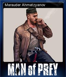 Man Of Prey Card 1