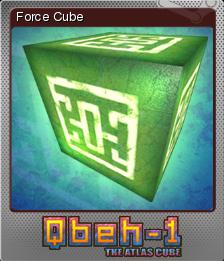 Qbeh-1 The Atlas Cube Foil 4