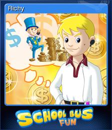 School Bus Fun Card 07