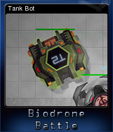 Biodrone Battle Card 4