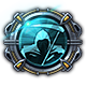 Ghost in the Shell Stand Alone Complex - First Assault Online Badge Foil