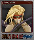 Guilty Gear X2 Reload Foil 11