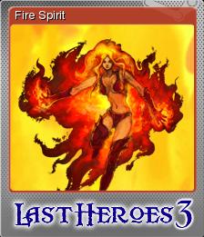 Last Heroes 3 Foil 1
