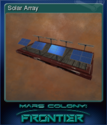 Mars Colony Frontier Card 5