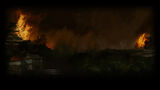 Total War SHOGUN 2 Background Village Afire