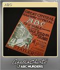Agatha Christie - The ABC Murders Foil 6